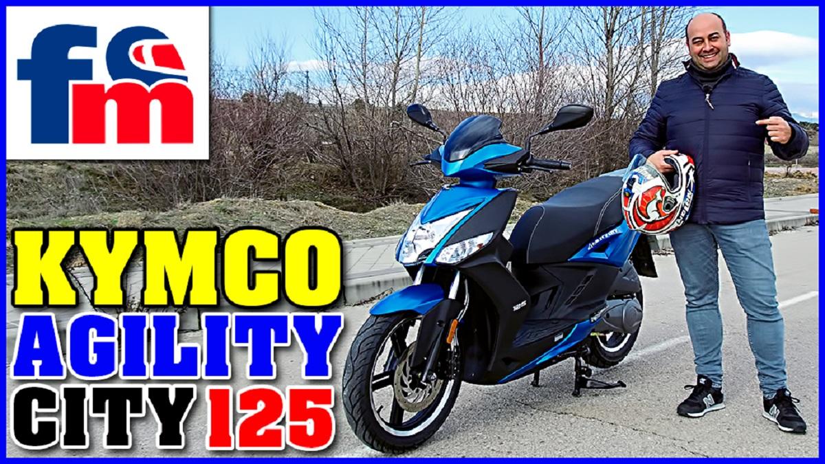 (VÍDEO) KYMCO Agility City 125