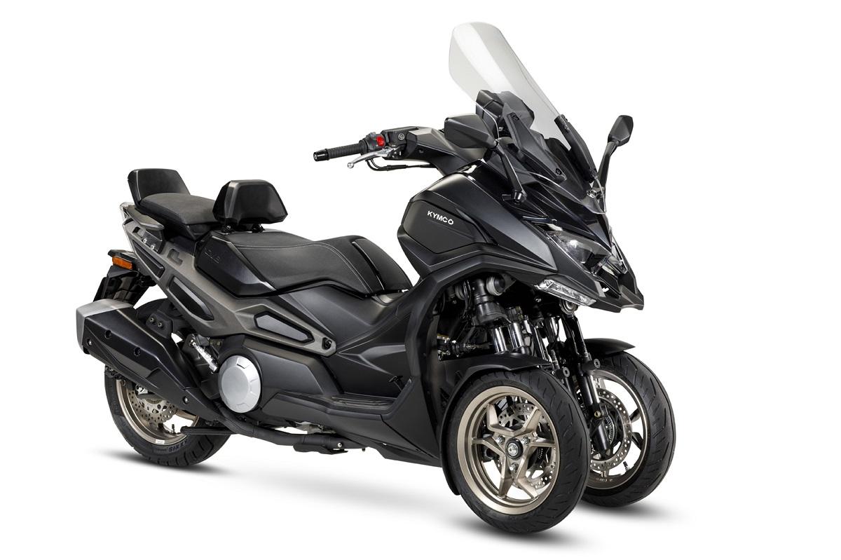 KYMCO CV3 2021: nuevo en el club de las tres ruedas