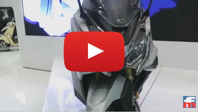 KYMCO AK 550 en vídeo en el Salón INTERMOT
