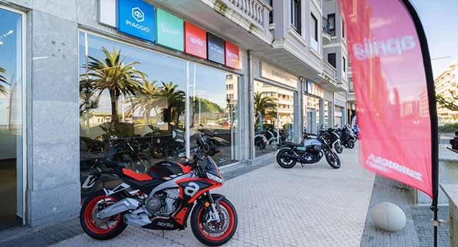 El Grupo Piaggio estrena concesionario en San Sebastián