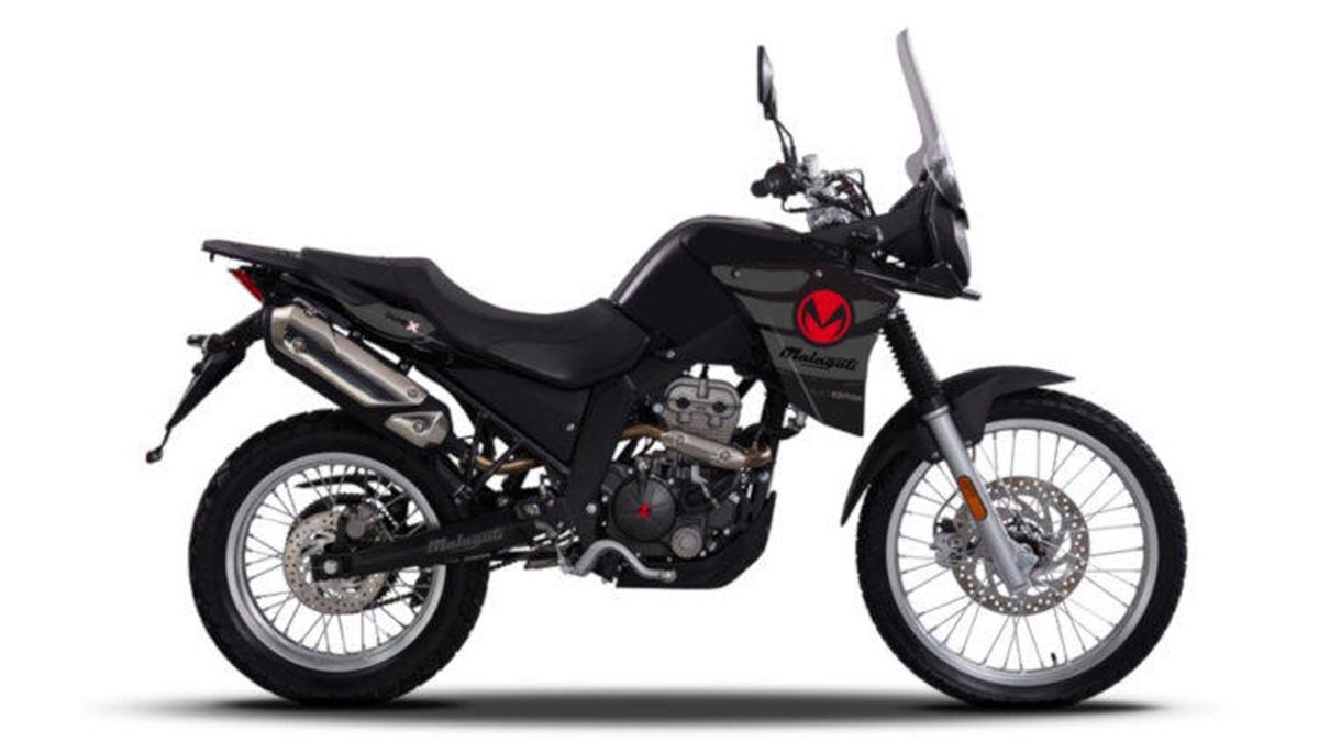 malaguti 125x black edition