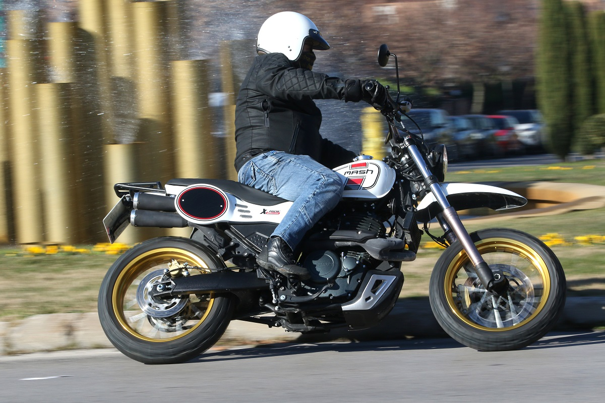 Prueba Mash X-Ride 650: Trail «déjà vu»