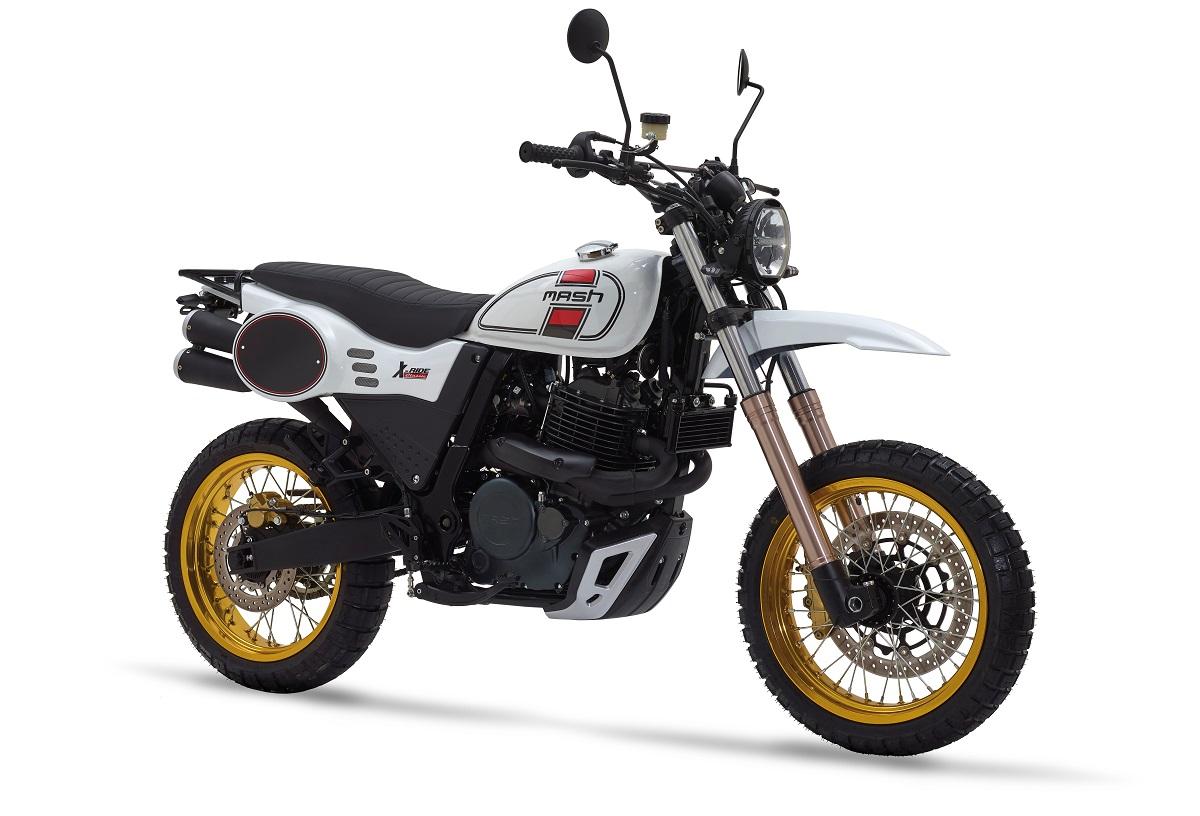 Mash X-Ride 650, trail con sabor añejo