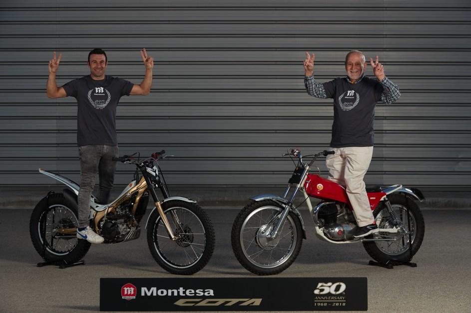 50 años de Montesa Cota