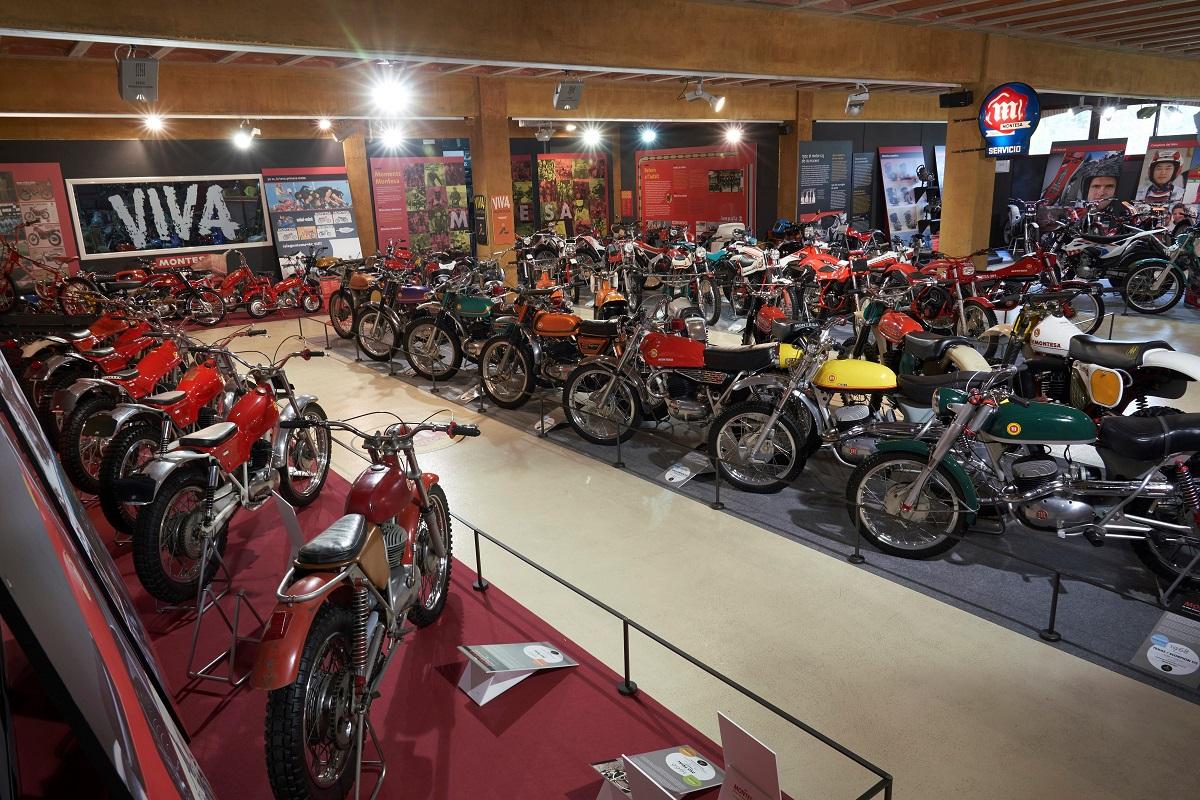 Montesa recopila sus 75 años de historia en el Museu de la Moto de Bassella