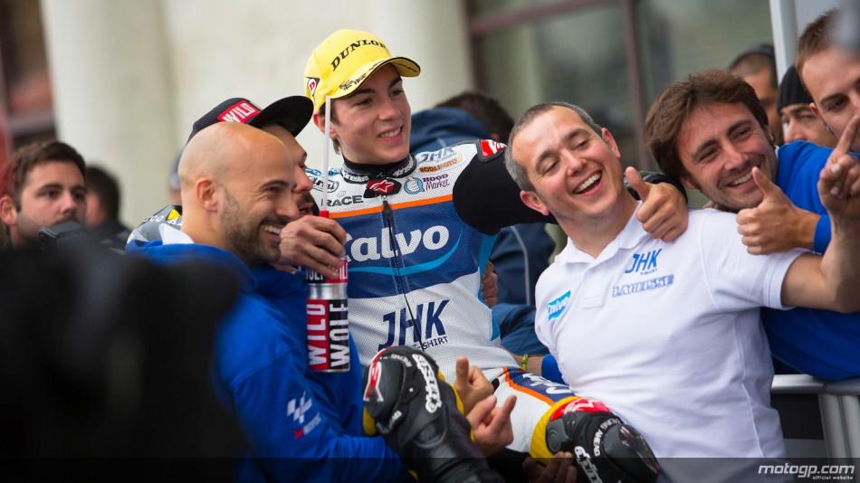 VÍDEO: La batalla por el título de Moto3 desde dentro