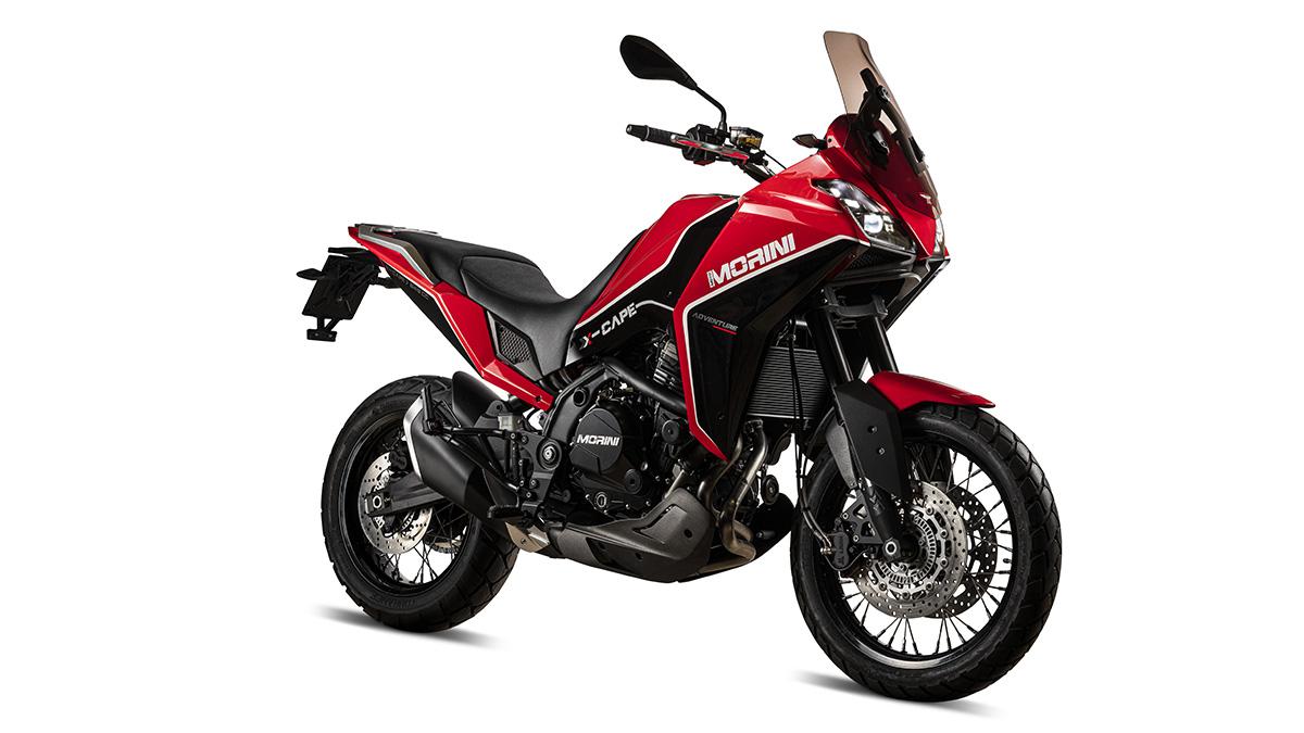 Moto Morini presenta un nuevo motor 650 y dos motos nuevas: X-Cape 2020 y 6 1/2 2020