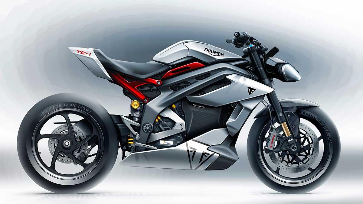 Triumph TE-1: primeros detalles de su futura moto 100% eléctrica