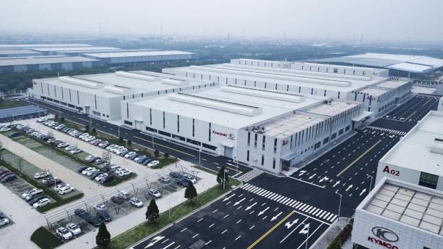 nueva fabrica kymco china 2