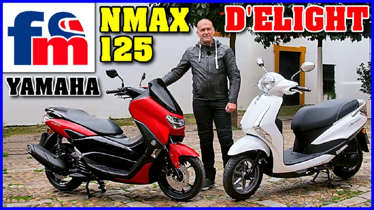 nuevos yamaha nmax 125 y delight