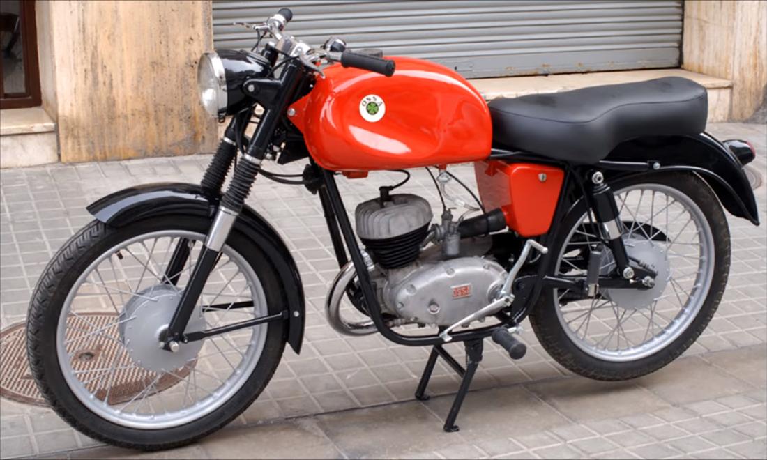 Las Ossa 125cc que se pueden llevar con el carnet B