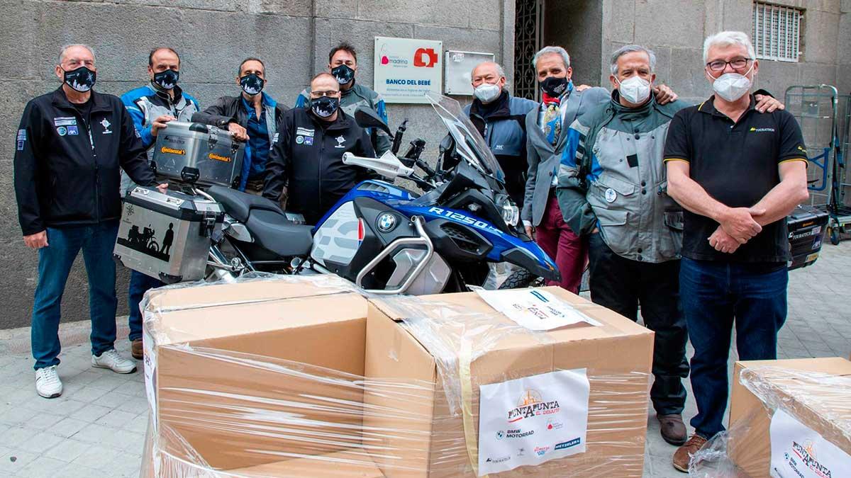 BMW Motorrad España: siempre comprometida con la solidaridad