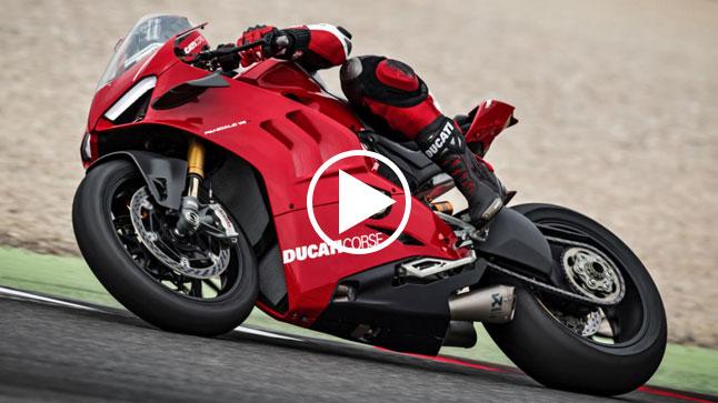 Vídeo: review de la Ducati Panigale V4 R