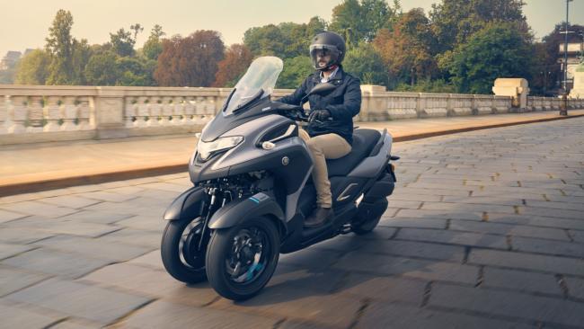 Nuevo Yamaha Tricity 300 2020: Para carnet de coche, con alto equipamiento