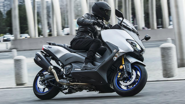 Yamaha TMAX: scooter de referencia