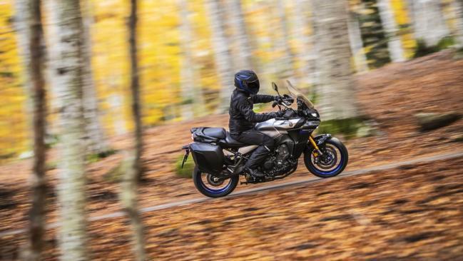 Yamaha Tracer 9 GT 2021: suspensiones electrónicas y mucho más