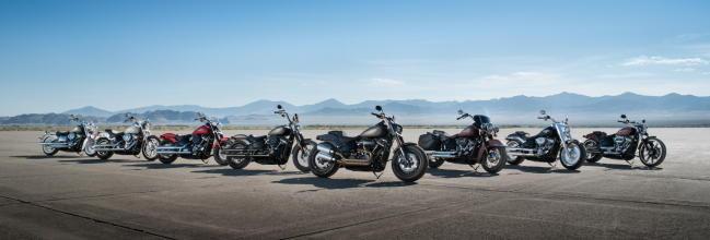 Las nuevas Harley-Davidson Softail 2018