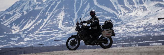 Una vuelta al mundo en moto distinta: Around Gaia