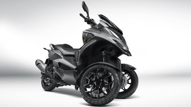Quadro QV3, así es el nuevo tres ruedas de la marca suiza