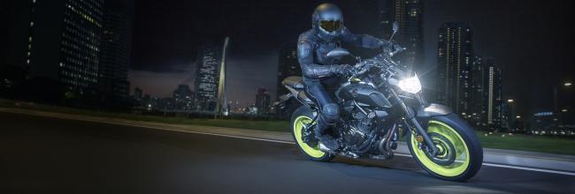 Así es la Yamaha MT-07, la moto más vendida en España