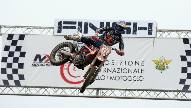 Jorge Prado, campeón del Internazionali Motocross