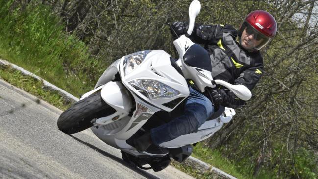 Fotos de la prueba del MX Motor Canyon 125