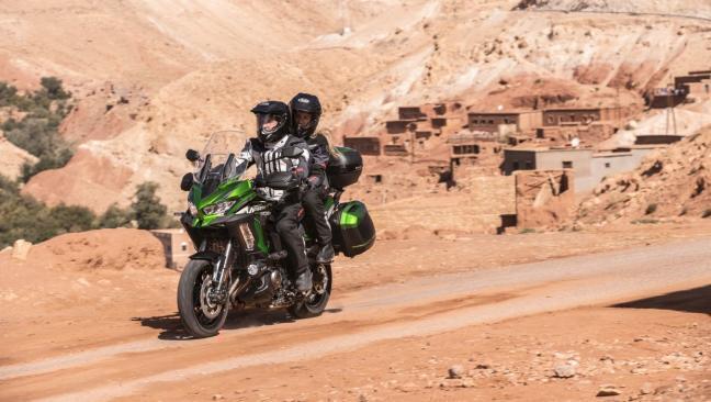 Fotos: Kawasaki Versys 1000 S y Versys 1000 SE 2021