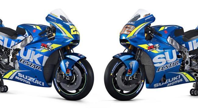 Suzuki presenta sus nuevas motos para el Mundial de MotoGP 2018