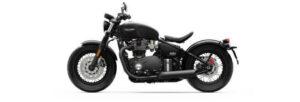 Fotos de la Triumph Bonneville Bobber Black