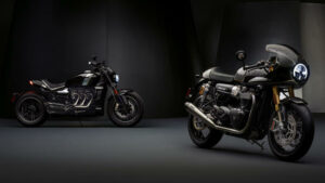 Fotos de las Triumph Factory Custom