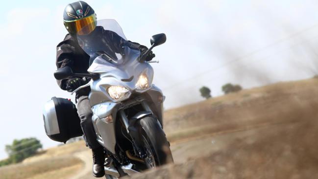 Prueba Dragon TT Triumph VIP Touring GTS: Gran Turismo personal