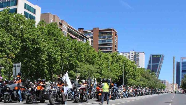La concentración de Harley Davidson KM0 vuelve a atraer más de 1.500 harlistas a Madrid