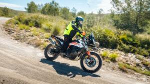 Fotos de la KTM 790 Aventure en acción