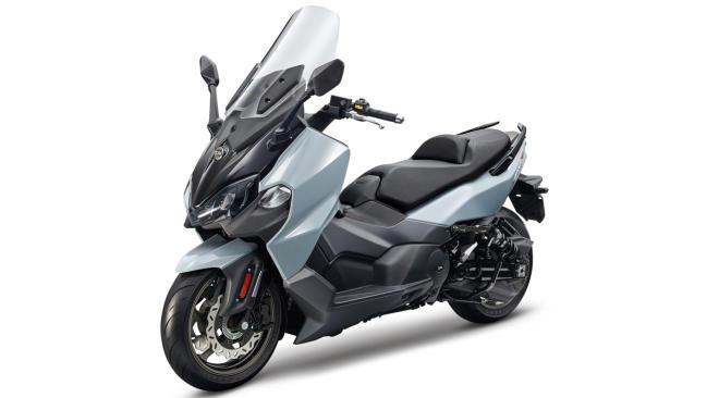 SYM Maxsym TL 500: bicilíndrico deportivo