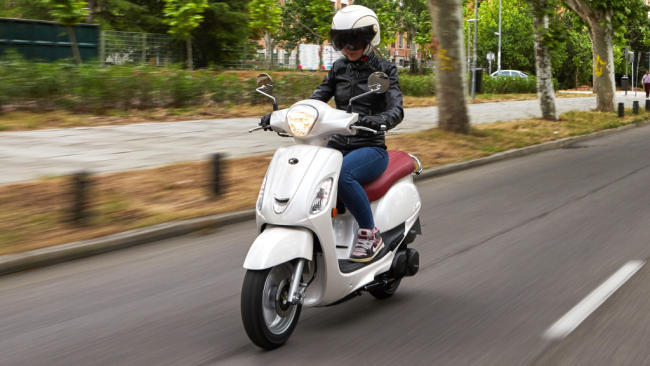 Prueba KYMCO Filly 125: «La» scooter española