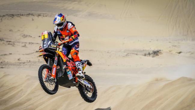 Dakar 2018: Sam Sunderland se hace con la 1ª etapa en motos