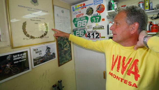 Ulf Karlson (1952-2018), campeón del mundo de trial, nos ha dejado