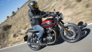 Fotos de la Triumph Speed Twin a prueba