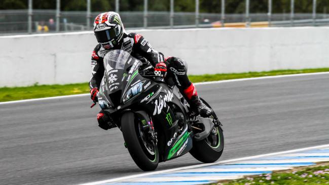 Rea despide el test de Jerez como el piloto más rápido de Superbike