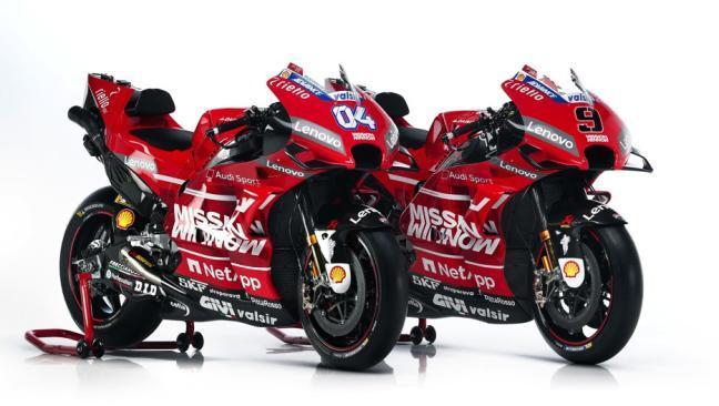 Así es la Ducati Desmosedici GP19: todo al rojo para MotoGP