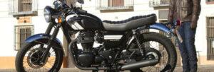 Fotos de la prueba de la Kawasaki W800 SE