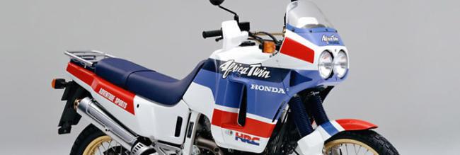 Generaciones Honda Africa Twin