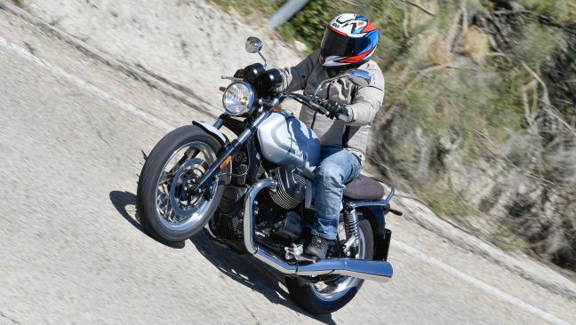 Prueba Moto Guzzi V7 Special 850: Par, para qué te quiero