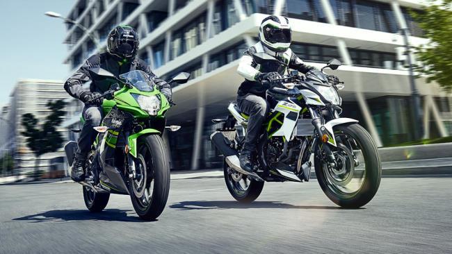 Fotos de las nuevas Kawasaki Z 125 y Ninja 125
