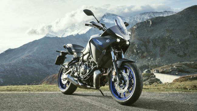 Yamaha Tracer 700 2020: nueva imagen y más confort