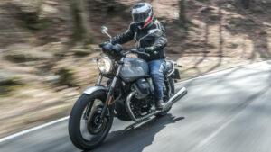 Fotos de la prueba de las Moto Guzzi V7 III 2018