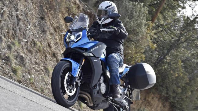 Prueba CF Moto 650MT: GT para todos los públicos
