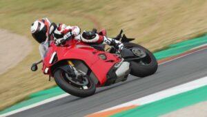 Fotos de la prueba Ducati Panigale V4