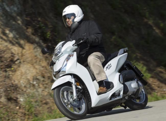 Honda Scoopy SH300i: prueba a fondo