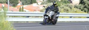 Fotos de la prueba del Yamaha TMAX SX